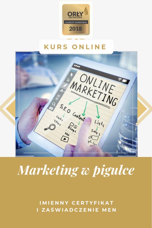 Marketing w pigułce kurs